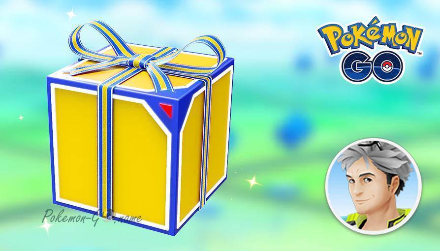 Ежедневная бесплатная коробка в Покемон ГО