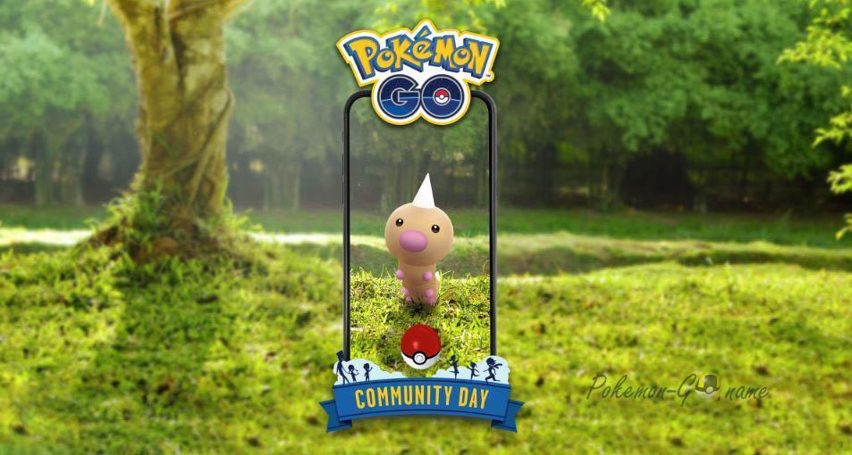 Weedle Community Day в Pokemon GO в июне 2020 года