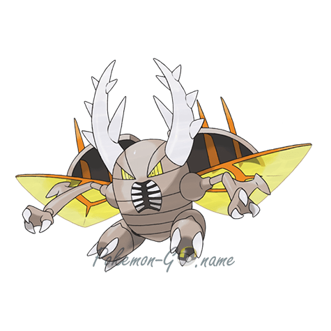 127 - Пинсир Мега (Mega Pinsir)