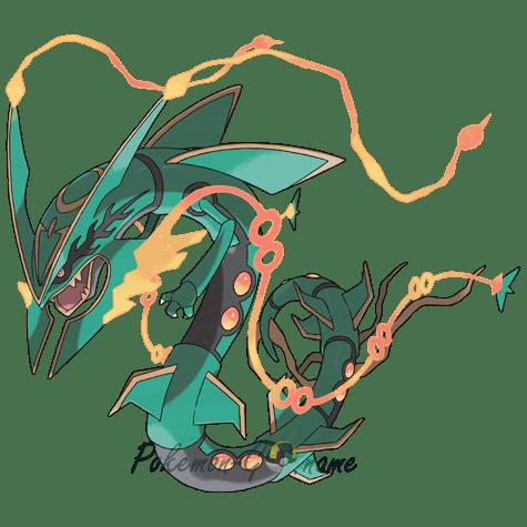384 - Рейкваза Мега (Mega Rayquaza)