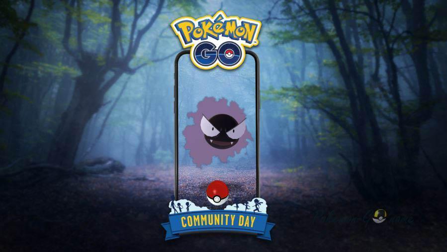 День Сообщества Гастли в Покемон ГО в июле 2020