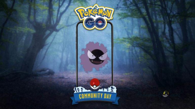 Комьюнити День Покемон ГО в июле 2020 года - Pokemon Gastly