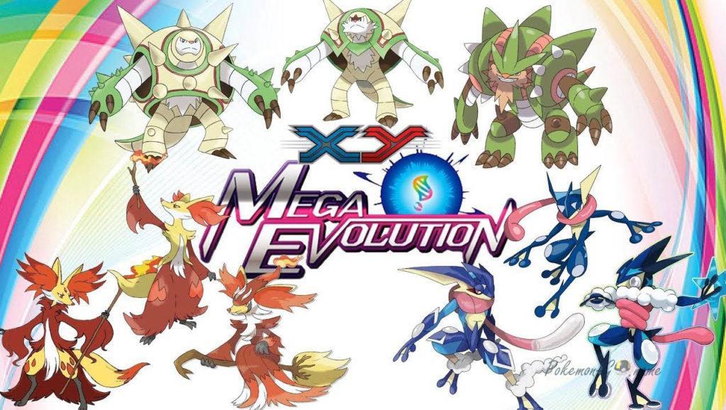 Мега Покемоны в Pokemon GO - Mega Evolutions List