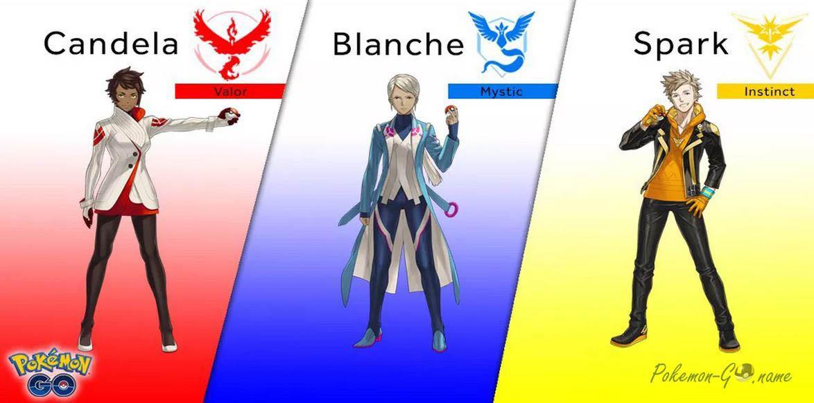 Какую выбрать фракцию в Pokemon GO