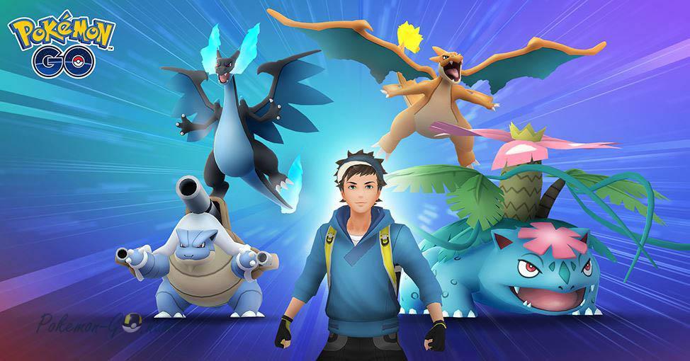 Mega Pokemons в Покемон ГО - мега эволюции