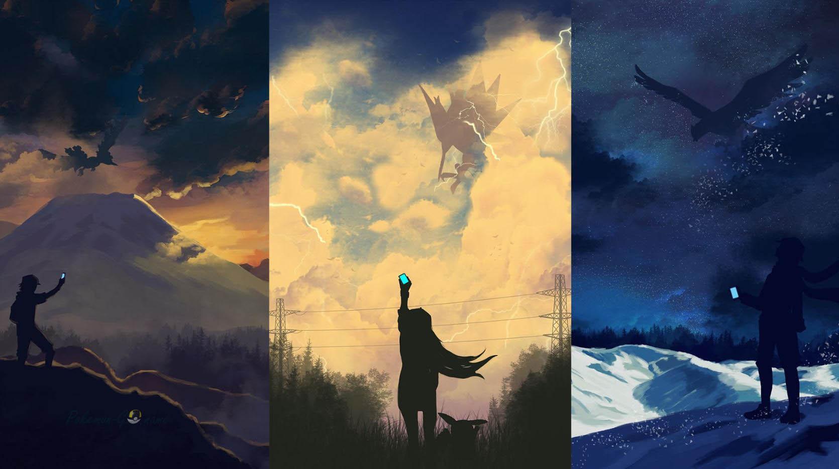 Легендарные и мифические Покемоны в Pokemon GO