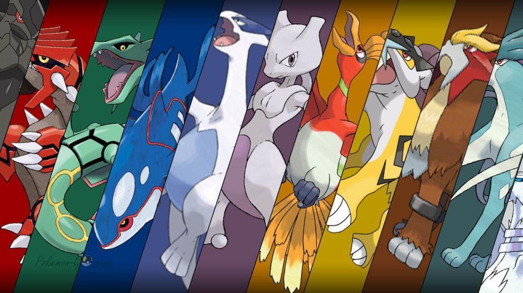 Легендарные Покемоны в Покемон ГО - подробный список