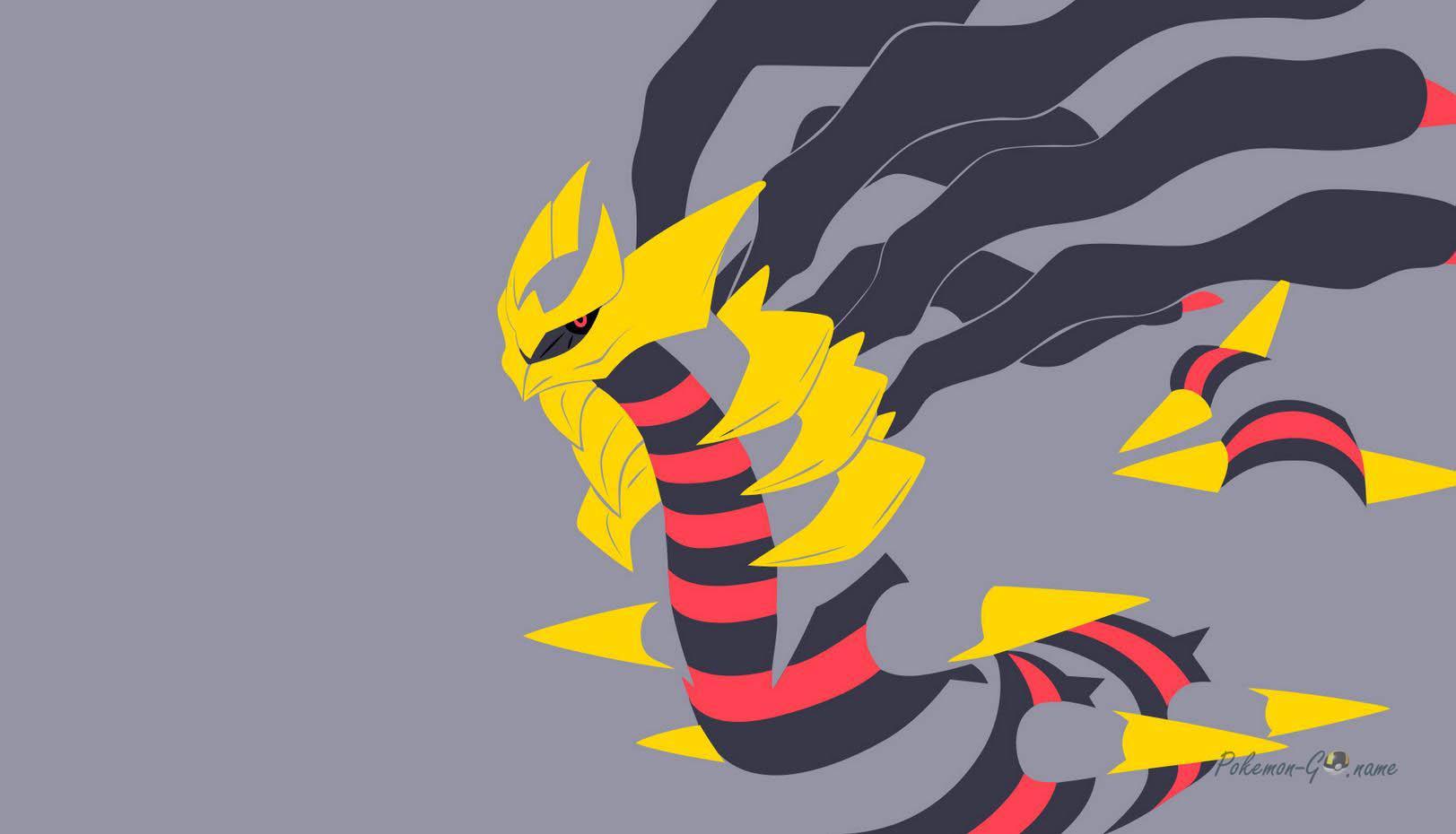 Гиратина оригинальной формы в Покемон ГО