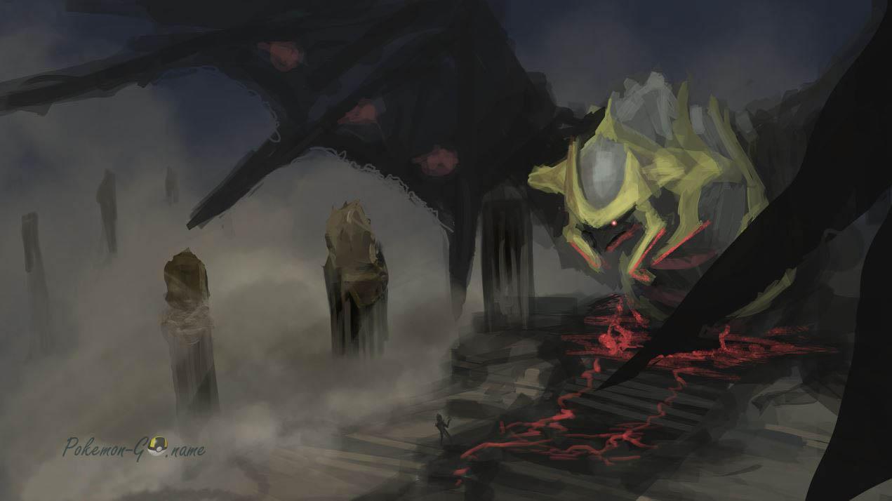 Giratina в рейдах октября 2020 года в Pokemon GO
