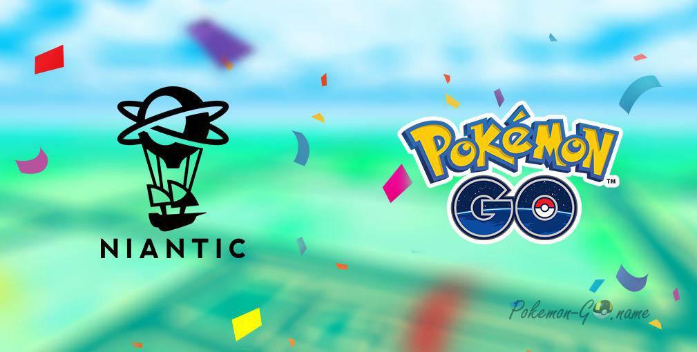 Niantic празднует свое пятилетие в Покемон ГО