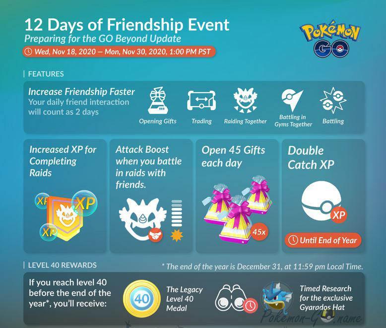 Ивент 12 Days of Friendship 2020