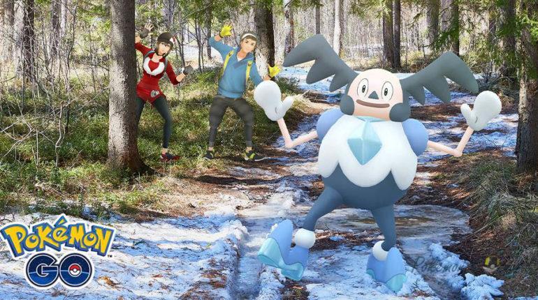 Галар Мистер Майм и Райм в Pokemon GO