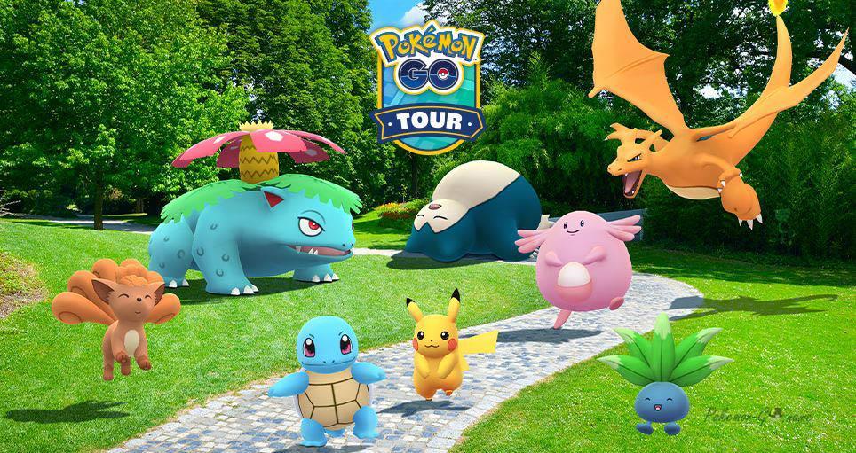 Pokemon GO Kanto Tour 2021 - юбилей серии Покемон