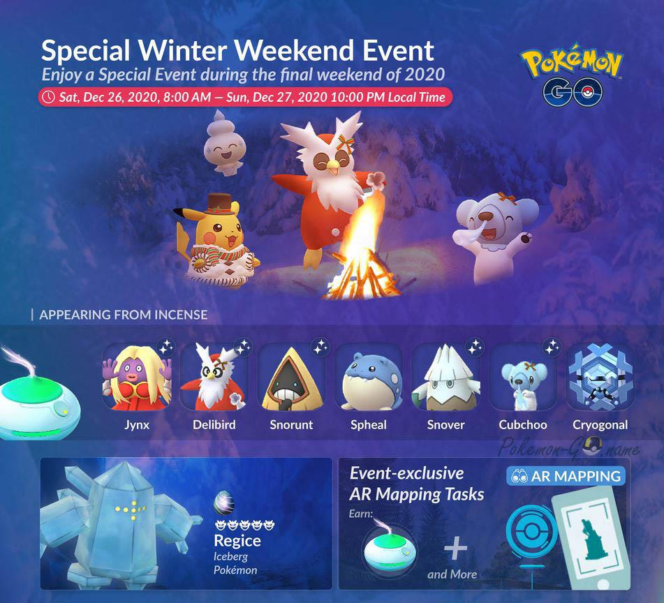 Special Winter Weekend 2020 Event Guide