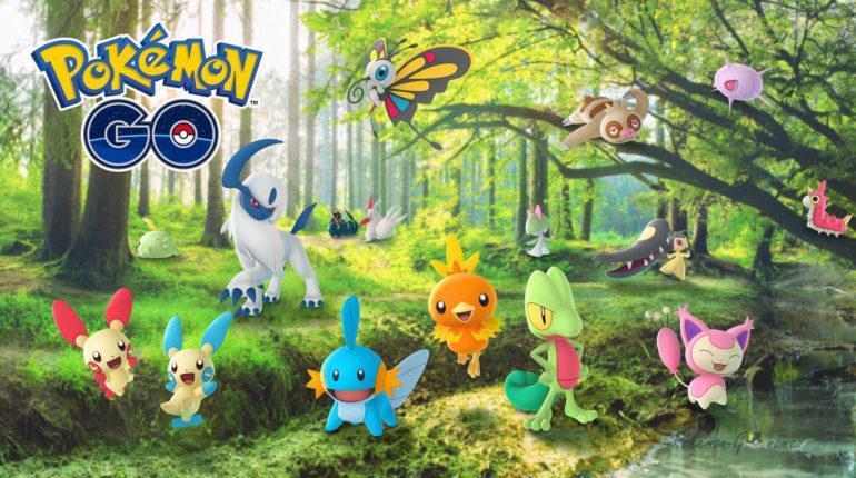 Ивент Hoenn Region 2021 года в Pokemon GO