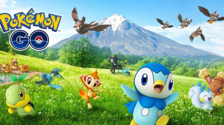 Ивент Sinnoh Region 2021 в Pokemon GO