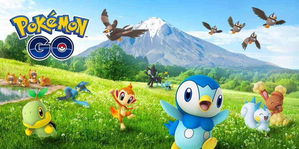 Ивент Sinnoh Region 2021 в Pokemon GO