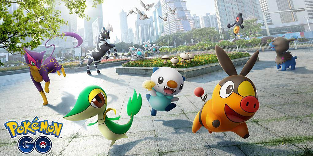 Ивент Unova Region 2021 в Pokemon GO