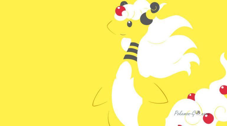 Кем бить рейд Босса Мега Амфароса в Pokemon GO
