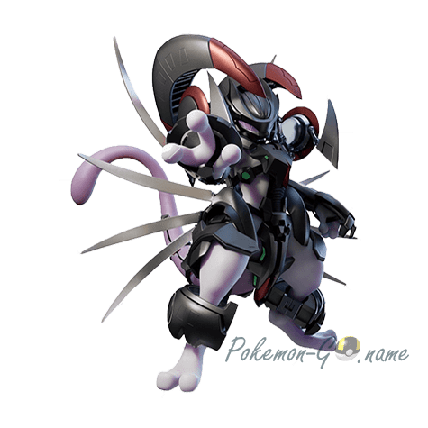 150 - Мьюту в броне (Mewtwo Armored)