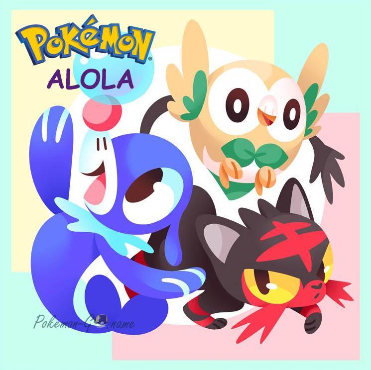 7 поколение Покемонов - регион Алола (Alola)
