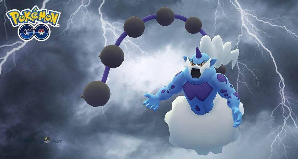 Час рейдов Тандуруса в Pokemon GO