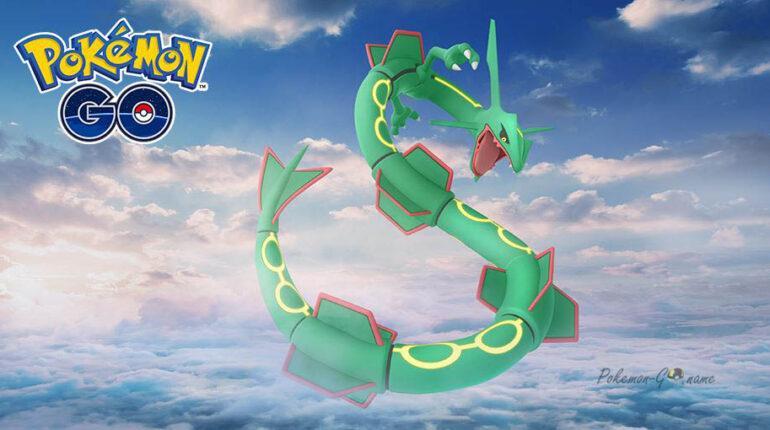 Покемон Rayquaza в Pokemon GO в марте 2021 года