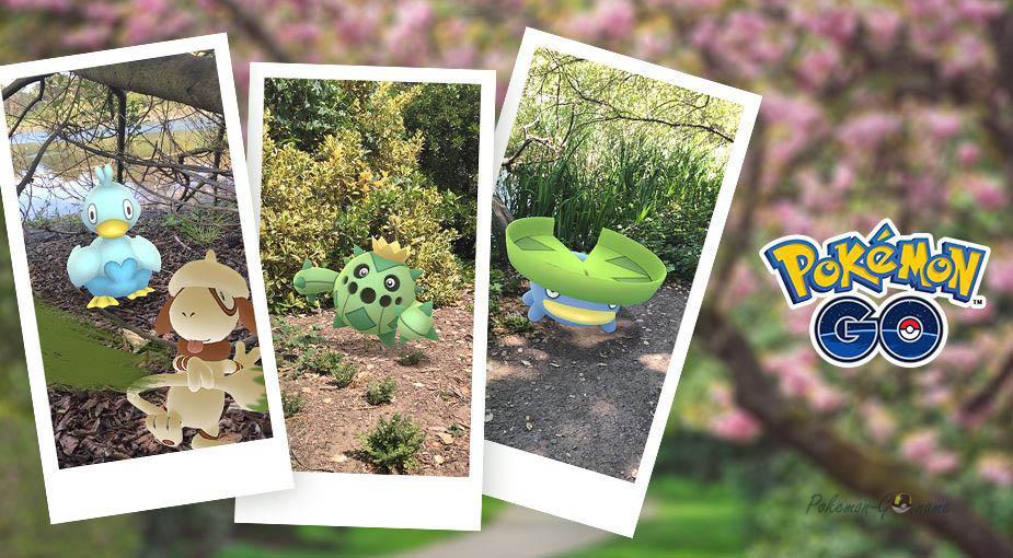 Мероприятие New Pokemon Snap - ивент фотографий в регионе Лентал