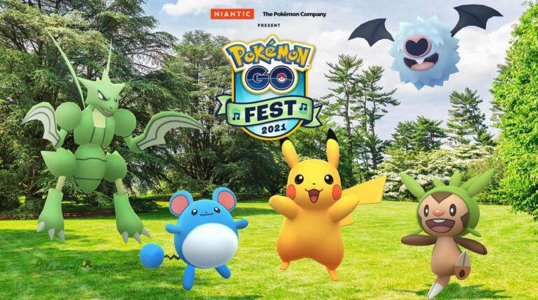Pokemon GO Fest 2021 года состоится в июле