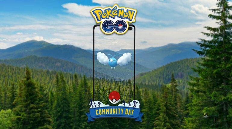 Swablu Community Day в мае 2021 года в Pokemon GO