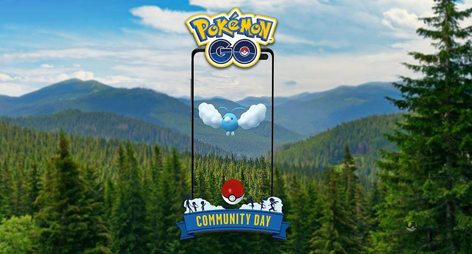 Swablu Community Day в мае 2021 года в Pokemon GO
