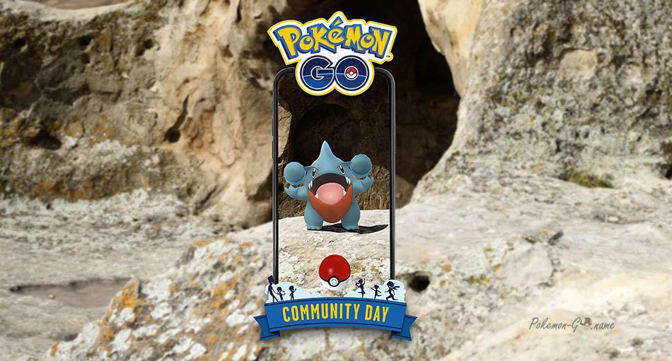 Комьюнити День Гибл в июне 2021 года в Pokemon GO
