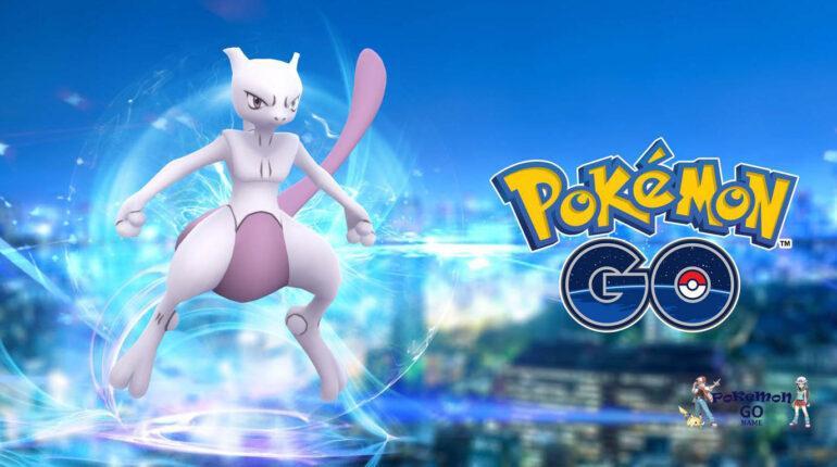 Час рейдов Mewtwo в Pokemon GO