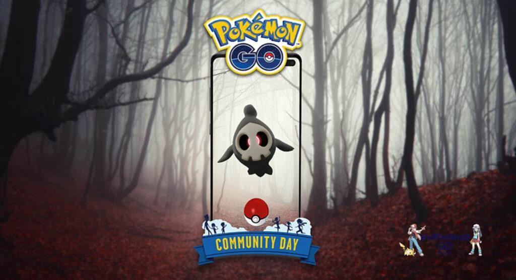 Duskull Community Day в Покемон ГО - октябрь 2021