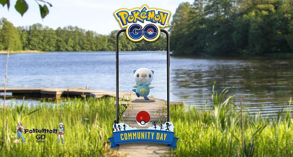 Комьюнити День Ошавотт в сентябре 2021 года в Pokemon GO