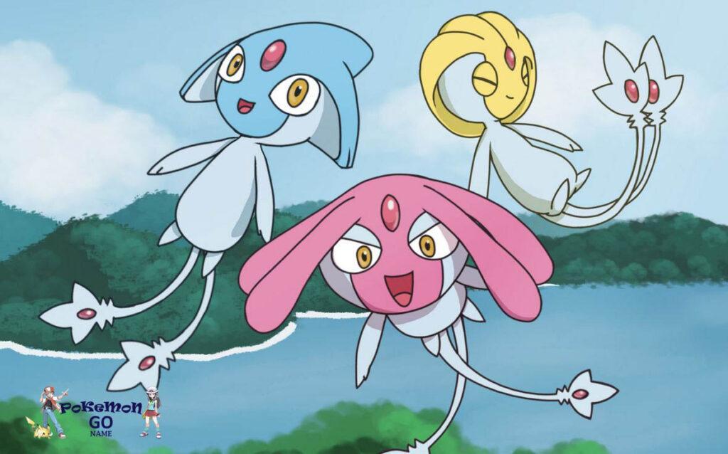 Pokemon GO Mesprit, Uxie, Azelf
