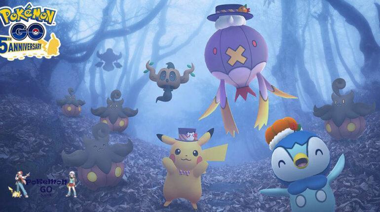 Хэллоуин 2021 в Pokemon GO - мероприятие Halloween Mischief