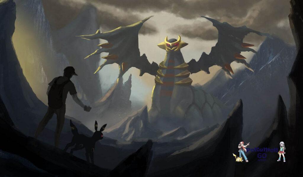Pokemon GO Raid Hour Altered Forme Giratina