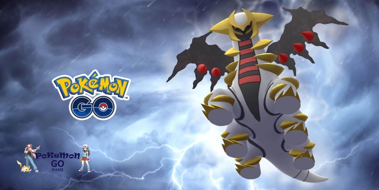 Рейд час с Гиратиной измененной формы в Pokemon GO